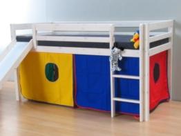 4tlg.Thuka Stoff Vorhang Set Höhle Spielhöhle Zubehör Hochbett Bett Kinderbett - 1