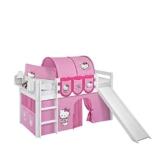 Kinderbett mit Rutsche und Tunnel Hello Kitty Pharao24 - 1