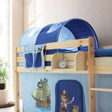 Kinderhochbett Deniel im Piraten Design Pharao24 - 2
