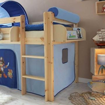 Kinderhochbett Deniel im Piraten Design Pharao24 - 3
