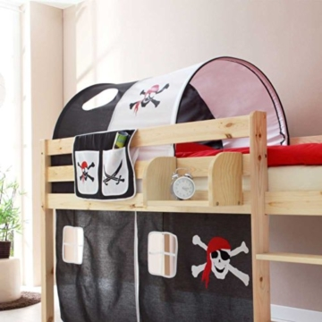 Kinderhochbett Dodgera im Piraten Design Pharao24 - 2