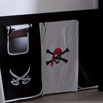 Piraten-Hochbett Marv mit Rutsche Pharao24 - 3
