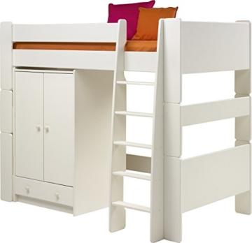 Steens for Kids, Hochbett, Liegefläche 90x200, teilbar, MDF weiß - 3