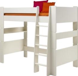Steens for Kids, Hochbett, Liegefläche 90x200, teilbar, MDF weiß - 1