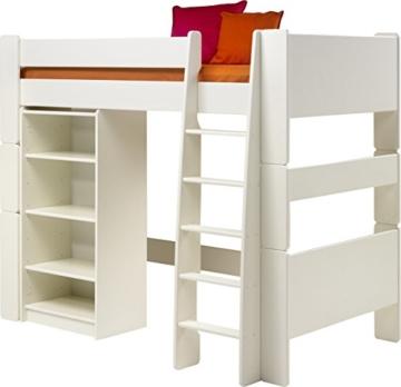 Steens for Kids, Hochbett, Liegefläche 90x200, teilbar, MDF weiß - 4