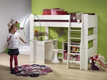 Steens for Kids, Hochbett, Liegefläche 90x200, teilbar, MDF weiß - 5